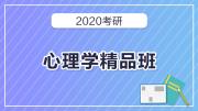 2020考研心理学精品班
