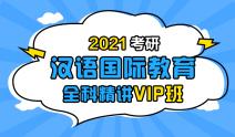 2021考研汉语国际教育全科精讲VIP班