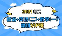 2021考研政治+英语(二)+数学(一)联报精讲VIP班