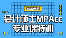 2020林肯娱乐登录测试会计硕士(MPAcc)专业特训课