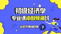 【预售】初级经济学专业课冲刺预测班