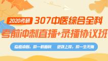 307中医综合全科考前冲刺直播+录播协议班